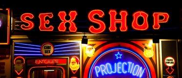 очаруйте сексуальный магазин Стоковые Фотографии RF