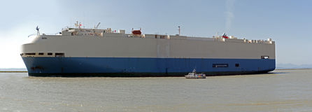 Очень большой корабль Стоковое фото RF
