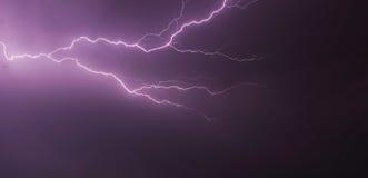 Очень большая молния Стоковая Фотография