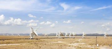 Очень большая сцена массива в Неш-Мексико Стоковая Фотография