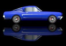 Очень быстрый автомобиль иллюстрация вектора