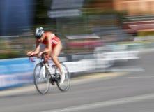 Очень быстрый велосипед Стоковая Фотография RF