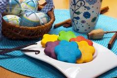 Очень вкусная голубая пасха Стоковая Фотография