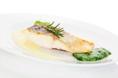 Очень вкусная еда рыб Стоковое Изображение