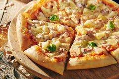 Очень вкусная свежая пицца Стоковые Фотографии RF