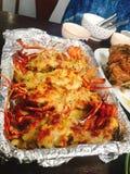 Очень вкусная Тайская кухня; креветка стоковое фото rf