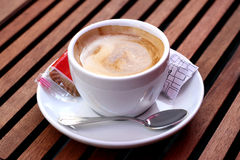 Очень вкусная чашка кофе Стоковая Фотография