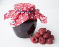 Очень вкусное варенье сделанное от свежей естественной поленики в опарнике Стоковая Фотография RF