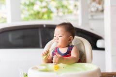 Очень вкусное время младенца Стоковое Изображение