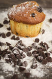 Очень вкусное домодельное пирожное десерта торта булочки Стоковая Фотография