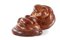 Очень вкусное сладостное печенье изолированное на белизне Стоковое Изображение RF