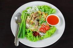Очень вкусное тайское Стоковые Фото