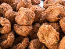 Очень вкусные зажаренные шарики рыб-затира & x28; Тайское food& x29; стоковые изображения