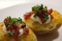 Очень вкусные закуски картошки стоковое изображение