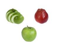 очень вкусные и здоровые яблоки для вашего здоровья стоковая фотография