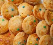 Очень вкусные домодельные печенья Стоковые Изображения RF