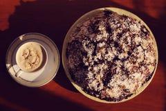 Очень вкусные домодельные торты на праздник Стоковое Изображение