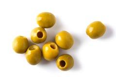 Очень вкусные оливки Стоковое Фото