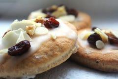 Очень вкусные печенья хлеба имбиря подготовленные для Xmas Стоковая Фотография RF