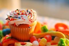 Очень вкусные пирожные пустыни стоковые изображения
