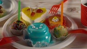 Очень вкусные пирожные с пить видеоматериал