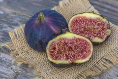 Очень вкусные плодоовощи смоквы отрезка Стоковое Изображение RF