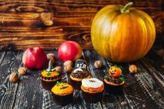 Очень вкусные помадки на хеллоуин для детей Стоковое Фото