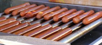 Очень вкусные сосиски для горячей сосиски Стоковые Фото