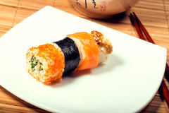 Очень вкусные суши maki стоковое фото
