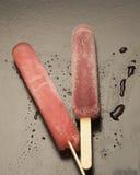 Очень вкусные Popsicles плодоовощ Стоковое Фото