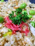 Очень вкусные Vegetable жареные рисы Стоковые Изображения
