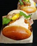 Очень вкусный гамбургер 2 Стоковое Изображение RF