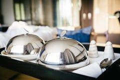 Очень вкусный гостиничный сервис Завтрак стоковое фото rf