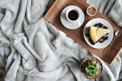 Очень вкусный домодельный завтрак Стоковое Изображение RF