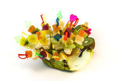 Очень вкусный еж плодоовощ стоковые фотографии rf