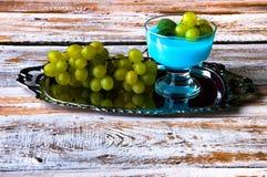 Очень вкусный десерт на лето Стоковая Фотография