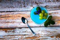 Очень вкусный десерт на лето Стоковое Фото