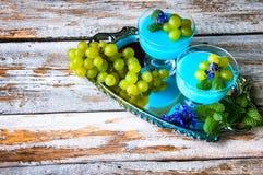 Очень вкусный десерт на лето Стоковые Фото