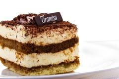 десерт tiramisu Стоковая Фотография RF