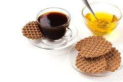 Очень вкусный завтрак на таблице Стоковое Фото