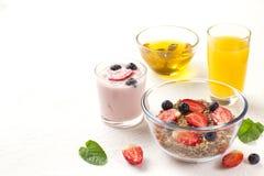Очень вкусный завтрак на таблице Стоковые Изображения RF