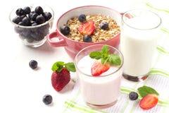 Очень вкусный завтрак на таблице Стоковые Изображения