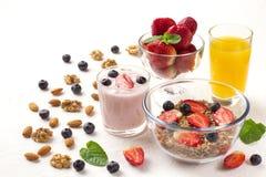 Очень вкусный завтрак на таблице Стоковое Изображение