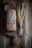 Очень вкусный и свежий хлеб с несколькими зерен для завтрака Стоковые Изображения