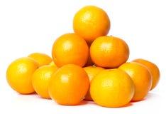 Очень вкусный мандарин Стоковые Изображения RF