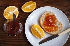 Очень вкусный мармелад с апельсином Стоковые Фото