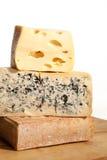 Очень вкусный предпосылка сыра. Стоковые Изображения