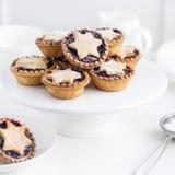 Очень вкусный плодоовощ семенит пироги для рождественского ужина Стоковые Фото