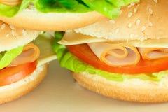 Очень вкусный сандвич Стоковое Фото