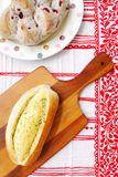 Очень вкусный свежий хлеб Стоковое Изображение RF